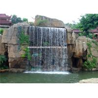 Wholesale Cast Iron Outdoor Waterfall Fountains Artificial Waterfall Curtain Landscape from china suppliers