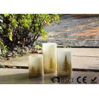 Wholesale Flat Top Electric Led Candles Flameless For Home ODM / OEM Available from china suppliers