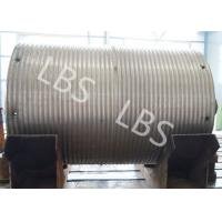 Wholesale High Strength Steel Integral Type Wire Rope Winch Drum For Crane Winch from china suppliers