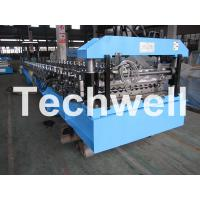 Buy cheap Galvanised Corrugated Roll Forming Machine With Coil Width 762 / 914 / 1000 / 1220mm from wholesalers