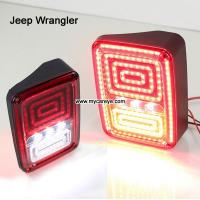 Wholesale Jeep Wrangler Auto Rear-end Tail Brake Parking Lights LED TailLights Column back Rearing from china suppliers