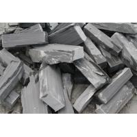 Wholesale Natural Stone Fieldstone Stone Veneer Black Slate Irregular Loose Culture Stone Veneer from china suppliers