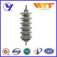 Wholesale MOA Type Lightning Surge Arrester Silicon Rubber Material ISO-9001 Certified 30KV 5KA from china suppliers