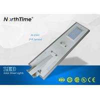 Wholesale 5100-5200 Lumens LED Solar Street Lights for home IP65 Four Rainy days from china suppliers