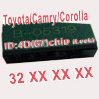 Wholesale 4D 67 Duplicable Chip 32XXX Car Key Transponder Chip for Toyota / Camry / Corolla from china suppliers