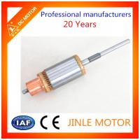 Wholesale 100% Copper Wire Balanced electric Motor Armature , 25 Bars DC Motor Commutator from china suppliers