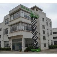 Wholesale Hydraulic motor drive Self Propelled Scissor Lift platform max 10m loading 230kg from china suppliers