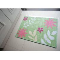Wholesale Green Nordic Style printed Non Slip Door Mats of 65% Cotton 35% Polyester from china suppliers