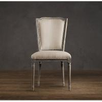 Wholesale High back dining room chairs / Vintage French Wooden kitchen dining chair furniture  from china suppliers