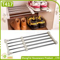 Buy cheap Free Installation Wholesale Home Wardrobe Use Extendable Storage Shelf from wholesalers