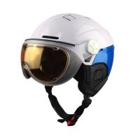 Wholesale 2017 OEM/ODM ski helmet with integrated goggle, ski helmet with visor, snowboard helmet from china suppliers