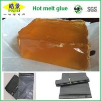 Wholesale Low Temperature Hot Melt Glue Deep Yellow Transparent For Express Bags Sealing from china suppliers