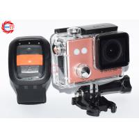 Wholesale Wireless HD Action Camera With Remote Control Outdoor Waterproof Head Camera from china suppliers