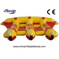 Wholesale PVC Towable Inflatable Flying Fish Boat For Water Amusement Equipment from china suppliers