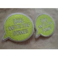 Wholesale Exquisite And Multicolor Personalised Embroidered Badges , Custom Embroidered Patches For Baby Clothes from china suppliers