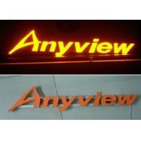 Wholesale Front Lit Aluminum / Stainless Steel 3D LED Channel Letter Signs For Lighting Up Store LOGOs from china suppliers