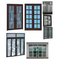 Wholesale Laminated / Double Glazed PVC Window & Door For Residential Houses from china suppliers