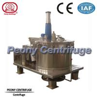 Wholesale Automatic Scraper Bottom Discharge Pharmaceutical Centrifuge / Perforated Basket Centrifuge from china suppliers