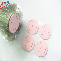 Wholesale pink Silicone High Insulating Heat Sink Thermal Conductive Pads with Adhesive Coating 1.5 W/mK from china suppliers