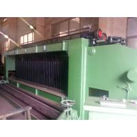 Wholesale Galvanized / Pvc Coated Gabion Mesh Knitting Machine With 2300mm Max. Netting Width from china suppliers