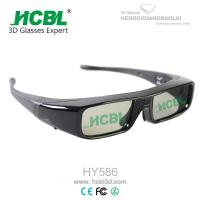 Wholesale Button Battery Active Shutter Cinema 3D Glasses / Eyewear 145*50*145mm from china suppliers