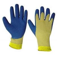 Wholesale General XXL blue color 10 Gauge Knitted winter cotton Working Glove from china suppliers