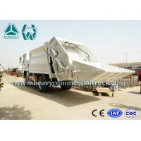 Quality Sanitation Waste Compactor Truck Garbage Dump Truck 5710 x 2080 x 2450 mm for sale