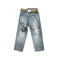 Wholesale Excellent quality customizable Fine workmanship kids jeans wear for girls from china suppliers