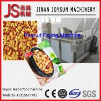 Wholesale Effective Stainless Steel 304 Coated Peanut Frying Machine 220 - 380V from china suppliers