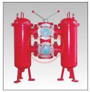 Wholesale Filter Low Voltage Protection Devices oil lubricating system double cylinder filter from china suppliers