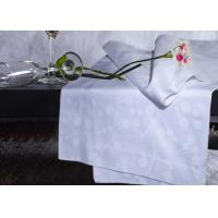 Wholesale White Twin Size Hotel Bedding Sets For Hotel 100% Combed Cotton Stripe from china suppliers