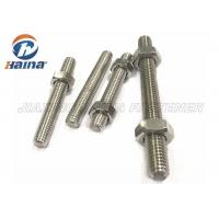 Wholesale A4-50 A4-70 A4-80 316L 304 Stainless Steel Full Threaded Rod Stud Bar from china suppliers