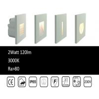 Wholesale High Waterproof Outdoor LED Step Lights 3 Watt CITIZEN COB Pured Aluminum Alloy CE/ROHS R3A0024 from china suppliers