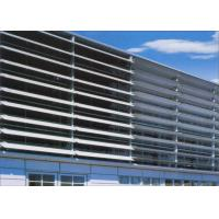 Wholesale Corrosion Resistant Aluminium Sun Shades For Exhibition Halls / Airports from china suppliers