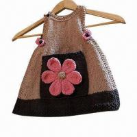 Wholesale Baby Knitted Top with Nice Color, Handmade  from china suppliers