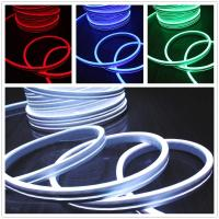 Wholesale rgb led neon flex 11*19mm flat emitting surface 220V neon tube Christmas light from china suppliers