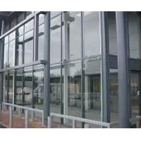 Wholesale High transparence Fireproof Double Silver Low - E curtain wall glass from china suppliers