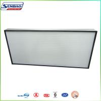 Wholesale Air Conditioning Units H13 H14 Cassette Hepa Air Filters 0.3um Particulate from china suppliers