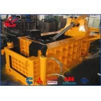 Wholesale Front Out Discharging Scrap Metal Baler Waste Steel Profiles Baling Press Compactor from china suppliers