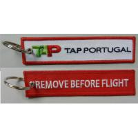 Wholesale TAP Portugal Airlines Keychain Remove Before Flight Key Rings  Baggage Tag Luggage Flag Address ID tag from china suppliers