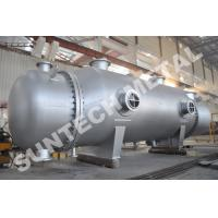 Wholesale 800sqm Titanium Alloy Shell And Tube Type Condenser for Dying from china suppliers