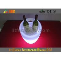 Wholesale Outdoor / Indoor Illuminated Ice Bucket , Bar / Night Club Lighting Wine Cooler from china suppliers