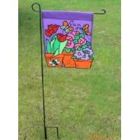 Wholesale Double Sides Advertising Flag Banners , Personalized Garden Flags Stand from china suppliers