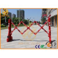 Wholesale Roadside Temporary Muti Gate Expandable Plastic Traffic Barriers Crowd Control Max Length 2200mm from china suppliers