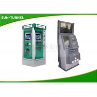 Wholesale Interactive Information Dual Screen Kiosk All In One With Coin Dispenser / Card Reader from china suppliers