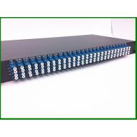Buy cheap 12pcs 1*8  Fiber Optic PLC Splitter in  1U 19' Rack Mount with LU connector for FTTX CATV from wholesalers