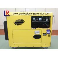 Wholesale AC Single Phase 5kVA Small Diesel Generator with 17L Fuel Tank , Apollo 24Ah from china suppliers