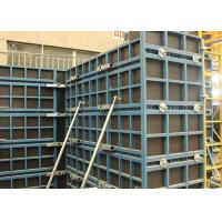 China Concrete Wall Steel Frame Formwork Highly Efficient With Low Labour Cost on sale
