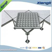 Buy cheap FS440 Cement infill steel raised floor PVC finish,610mmX610mmX35mm from wholesalers