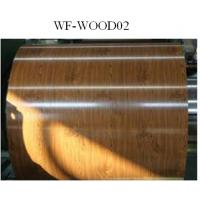Wholesale Wood Patterned Painted Aluminum Coil Fire Resistance DX5ID Grade from china suppliers